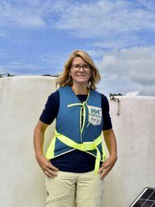 Antonia Liess, forskare vid Högskolan i Halmstad. Foto Hanna Nordemark, Hallandsposten